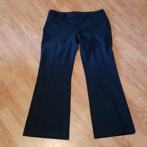 Gap black modern bootcut dress pants